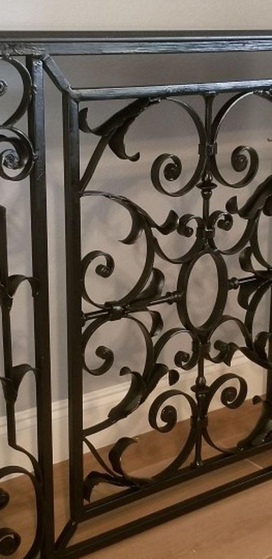Granite / Iron - Wall Table