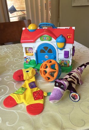 Fisher Price house and baby toys all for 15$ for Sale in Silver Spring, MD