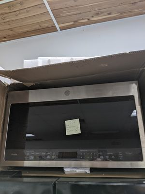 Photo GE Profile Over-the-Range Microwave, 2.1 cu ft, PVM9005SJ3SS