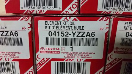 Toyota oil filters Thumbnail