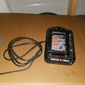 Drill battery and charger only for Sale in Stone Mountain, GA