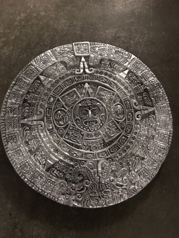 Aztec Mayan Calendar Wall Art for Sale in Corona, CA - OfferUp