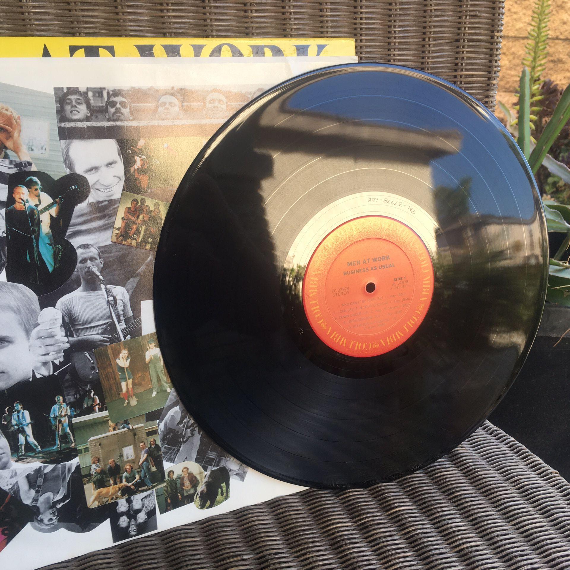 Men At Work Vinyl Record