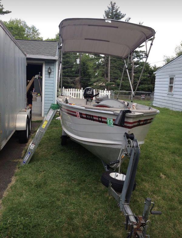 2014 smoker craft 14� boat
