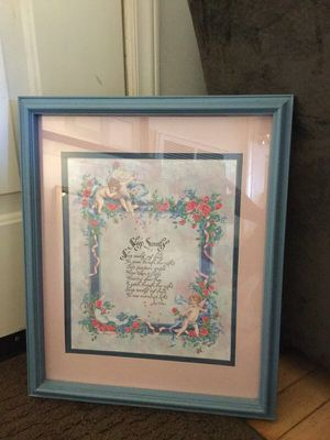 Child's Room Picture - Sleep Sweetly Prayer for Sale in Bedford, VA