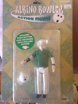 Albino bowler collectable action figure for Sale in Orlando, FL