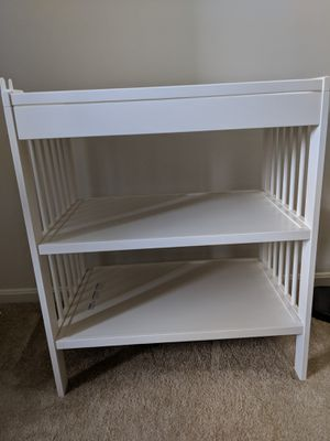 Changing table for $60 for Sale in Alexandria, VA