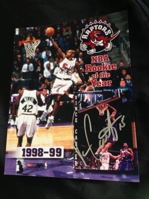 Vince Carter signed autographed 8x10 for Sale in St. Louis, MO