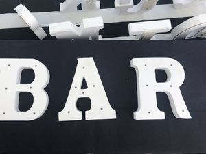 BAR sign with light up lights LED PARTY FIESTA wedding Quinceañeras for Sale in Azusa, CA