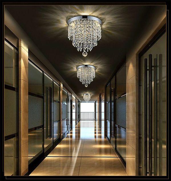 Modern Chandelier Crystal Ball Fixture Pendant Ceiling