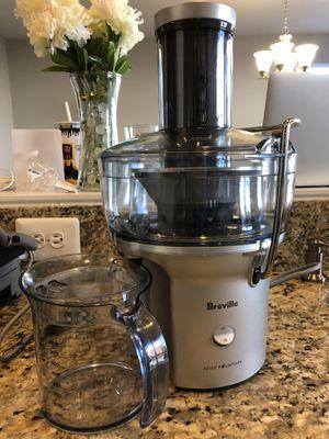 Breville Juicer - as new for Sale in Manassas, VA
