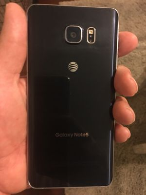 Samsung Galaxy Note 5 AT&T Mint condition for Sale in Sanford, FL
