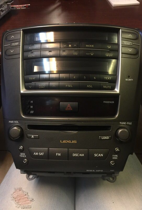 lexus is250 radio