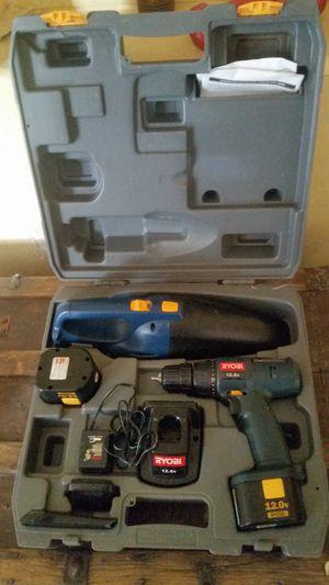 Ryobi drill and vacuum set for Sale in Tucson, AZ