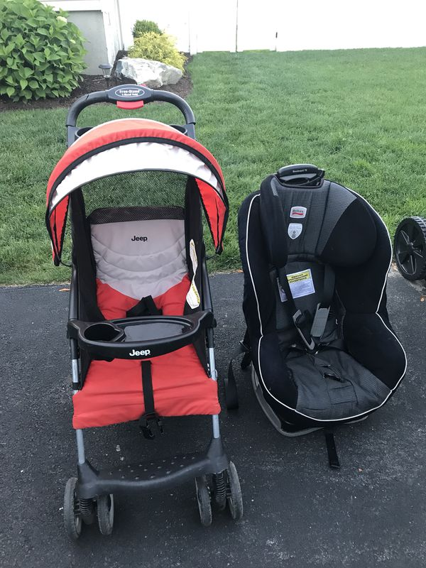 Jeep Stroller And Britax Car Seat Baby Kids In Wilmington MA
