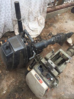 2 Small outboard motors for sale for Sale in Boston, MA