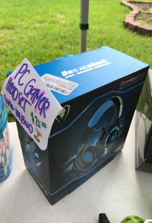 Brand new PC GAMER HEADSET for Sale in Houston, TX