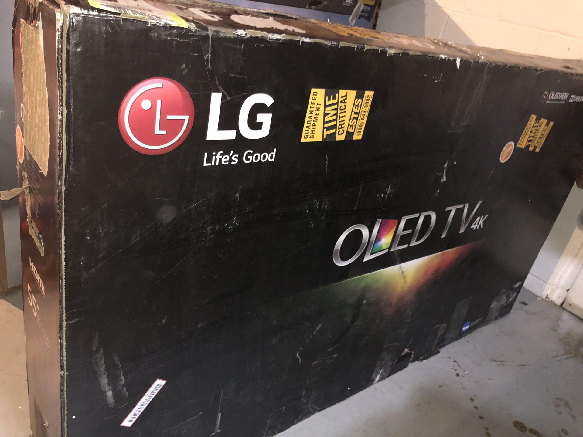 """OLED LG TV 55"""" 4K AI ThinQ c8"""
