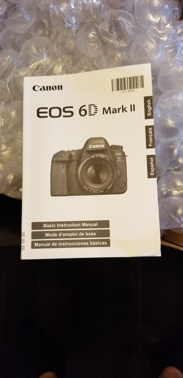 Canon 6d Mark Ii Body Best Offer For Sale In Irving Tx Offerup