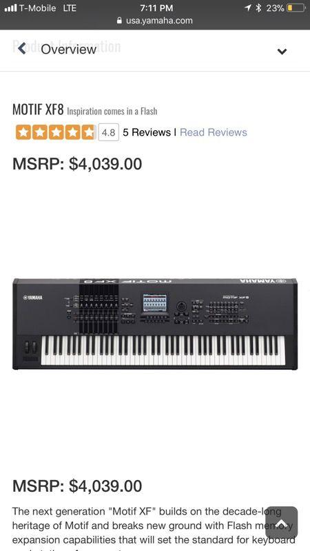 Motif xf keyboard BRAND NEW !!! for Sale in San Francisco, CA - OfferUp