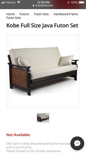 Kobe Java Futon With Matching End Table For In Carolina Beach Nc