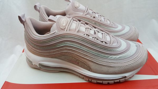 3d3b7b54e94 Nike Women s Air Max 97 SE Glitter Rose Pink Sparkle Pack AT0071-600 Size 9  for Sale in Deer Park