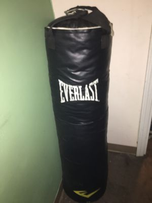 Everlast 100 lbs Punching Bag for Sale in Washington, DC