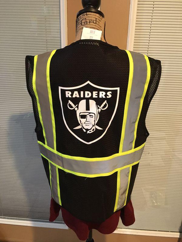 Raiders Safety Vest Safety Vest Raiders Work Vest Work Vest Raiders Hat Raiders Jersey Raiders