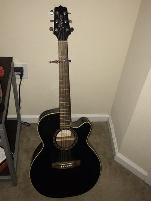 Takamine acoustic with built in tuner for Sale in Lynchburg, VA