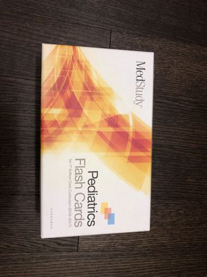 Medstudy pediatric flash cards, 7th edition for Sale in Philadelphia, PA