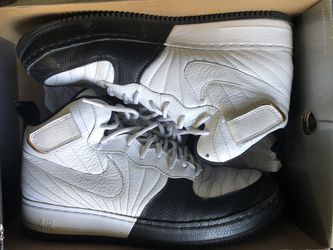 Nike Air Jordan's AF -1 Two-3 blk/wht Thumbnail