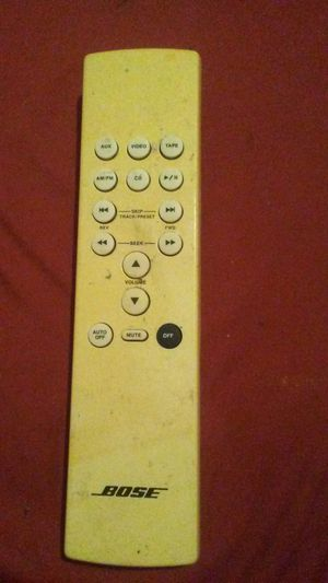 BOSE radio Remote Control Model RC-5 for Sale in Indianapolis, IN