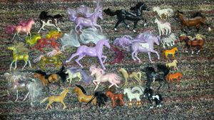 Vintage toy horse collection for Sale in Fresno, CA