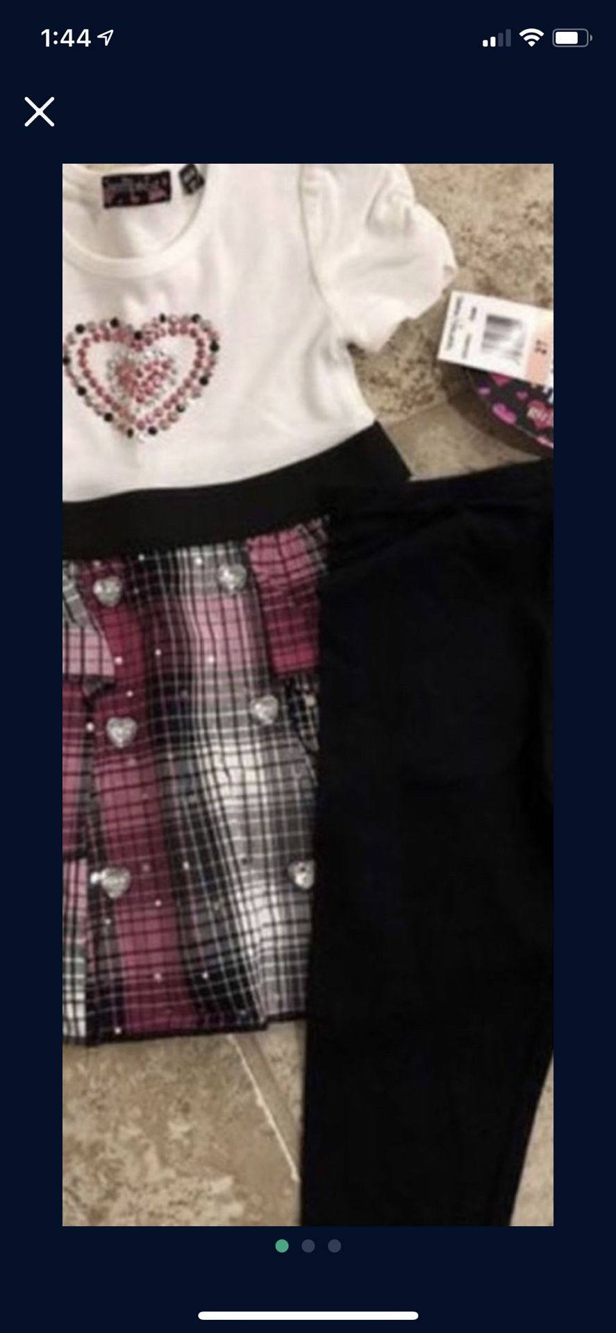 Girl Size 2T New With Tags Smoke And Pet Free