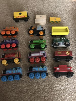 Thomas the Train wood set for Sale in Clarksburg, MD