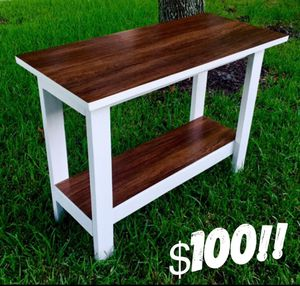 Farmhouse Console Table (WILL DELIVER) for Sale in League City, TX