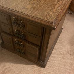 Vintage End Tables (2x)-set Thumbnail
