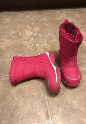 Pink land's end snow boot - size1 for Sale in West McLean, VA