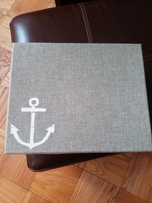 Nautical Storage Box and Lid for Sale in Bethesda, MD