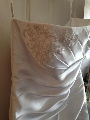 Wedding dress size 14 $100 for Sale in Denver, CO