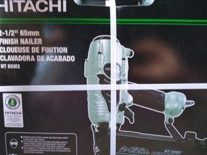 Hitachi 2 1/2 inch finish nailer for Sale in St. Peters, MO