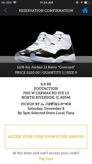 wholesale dealer 63af1 99e7f NIKE AIR JORDAN 11 CONCORD 2018 DS for Sale in Chicago, IL - OfferUp