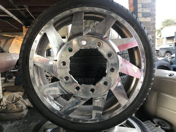 26 Inch Custom Dually Wheels For Sale In Houston Tx Offerup