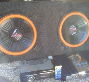 Complete Car Stereo Package!!!! Almost Impossible deal!! for Sale in North Charleston, SC