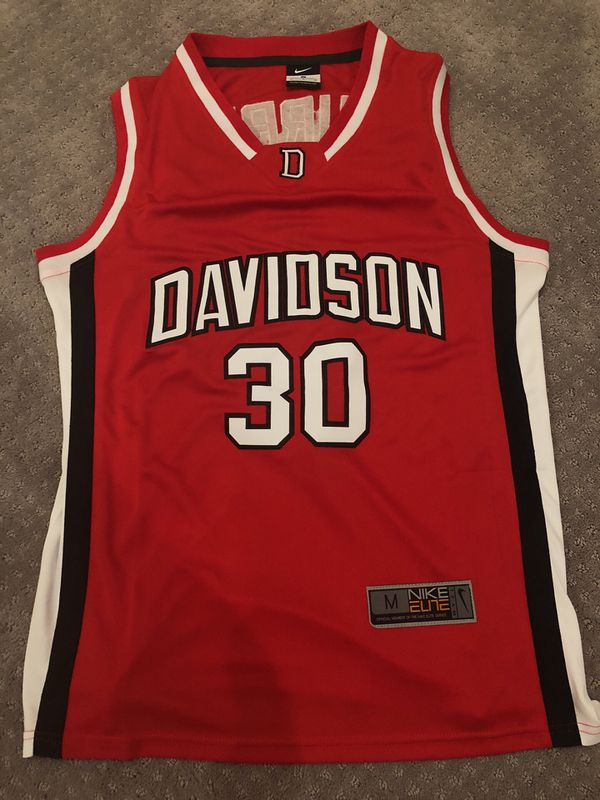 new style d7b8d 91670 authentic stephen curry davidson jersey