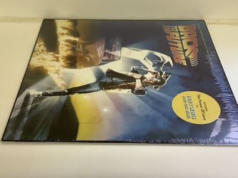 BACK TO THE FUTURE Record - Huey Lewis & The News - 80's Movie Soundtrack Vinyl - New! Thumbnail