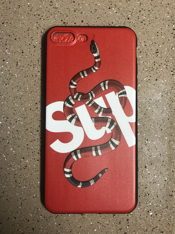 detailed look f840a 9f58a Supreme X Gucci Iphone Case for Sale in Gilbert, AZ - OfferUp