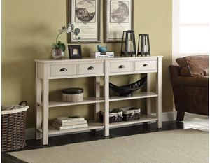"""ACME Furniture 97250 Galileo 72"""" Console Table, Cream for Sale in Parma, OH"""