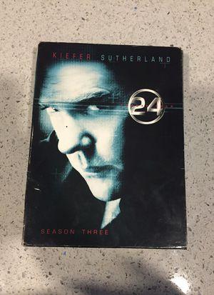 24 series season 3 DVD set for Sale in Houston, TX