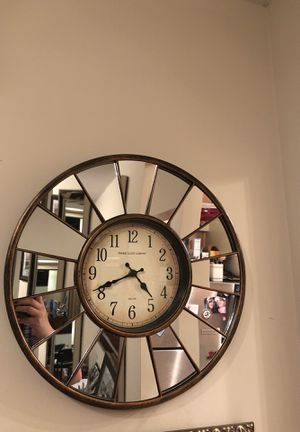 Glass clock for Sale in Washington, DC